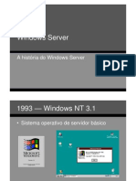 Windows Server Historia