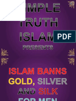 21. Islam Banns Gold Silver and Silk
