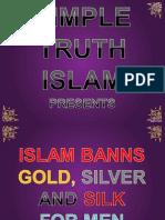 21. Islam Banns Gold Silver and Silk