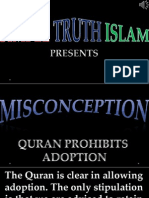 25. Quran Prohibits Adoption