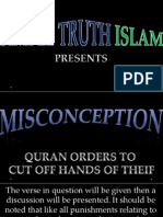 30. Quran Orders to Cut Off Hands of Thief