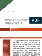 Teoría del Aprendizaje Conductista