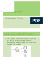 Caracteristicas do Windows Server 2003