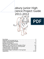 Lake Asbury Junior High School Science Project Guide