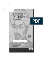 Yahya Michot, Al-Fārābī and his Influence on the Early Avicenna