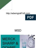 Laboratorio MERCK SHARP & DOHME (MSD)