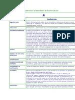 Glosario de términos ambientales de EcoPortal