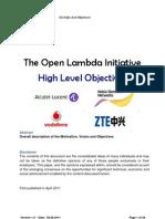 OLI WP -High Level Objectives V1.0 June 2011