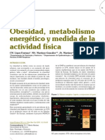 Obesidad-Metabolismo energetico