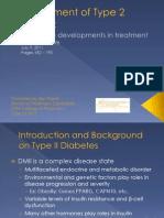 New DMII Treatments