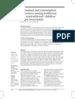 Attitudinal and Consumption - Group -5