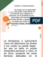 6. AUTOCONTROL Y PRUDENCIA