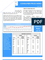 Consumer Price Index - Jul 11