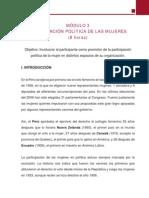 3Curso Especializacion-Igualdad de Genero , Ciudadania y Participacion Politica