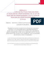 4Curso Especializacion-Igualdad de Genero , Ciudadania y Participacion Politica