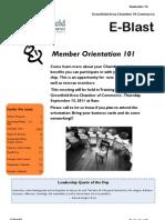 September 14, 2011 Chamber E-Blast