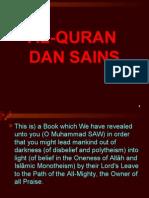 Bab 9 - Al-Quran Dan Sains