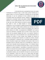 Declaración pública  CEC  de enfermería de la Universidad de La Serena