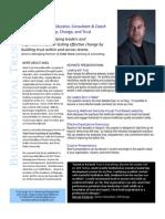 Aneil Profile Sheet
