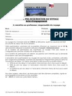 Voyage New York Documents Administratifs2011