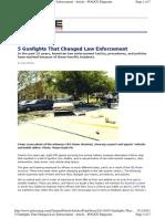 5 Gunfights That Change Law Enforcement