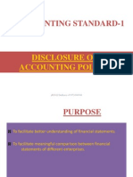Account Standard-1-Discloser of Accounting Police-prince Dudhatra-9724949948