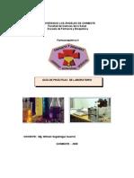 Gua de Prcticas de Lab Oratorio Farmacoquimica