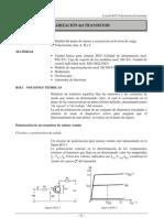 B18 PolarizaciÓn Del Transistor