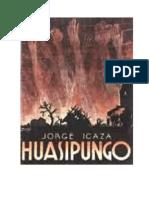 ANÁLISIS LITERARIO DE LA OBRA HUASIPUNGO DE JORGE ICAZA