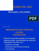 Meningitis. Encefalitis
