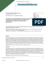 Avaliação da suscetibilidade a processos erosivos e movimentos de massa_ decisão multicriterial suportada em sistemas de informações geográficas