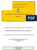 Primary Science Curriculum-Grade 1-2