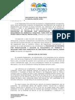 Iniciativa de reformas por modificación y adición al Reglamento de Tránsito y Vialidad para el Municipio de San Pedro Garza García, NL (8 de agosto, 2011)