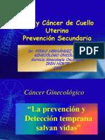 Ca CÉRVIX Prevención Secundaria IREN Abril 2010