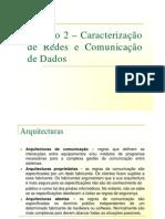 Caracterização de redes - Comunicação de dados