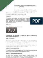 to de ASU Aprobado en Asamblea - Set 2011
