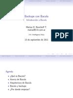 Introducción a Bacula