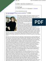 Sl-Via dall'euro dei bluff. Ida Magli