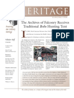 The Peregrine Fund Heritage FALL 2005