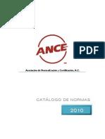 ANCE - Catalogo