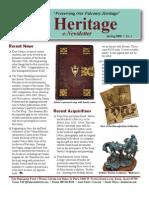 The Peregrine Fund Heritage SPRING 2008