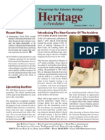 The Peregrine Fund Heritage SUMMER 2008