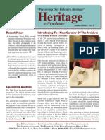 The Peregrine Fund Heritage SUMMER 2008