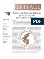 The Peregrine Fund Heritage WINTER 2004-05