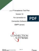 SMPP Test Plan v10