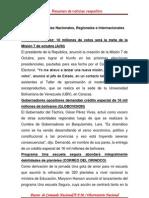 Resumen de Noticias Vesper Ti No 15-09-2011