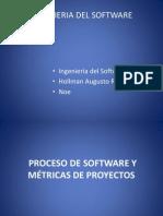 Proceso de Software y Metricas de Proyectos
