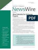 US Energy Subsidies, Grants, Loans TaxPayers Pay