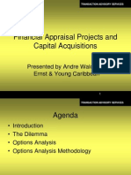 Financial Appraisal Projects