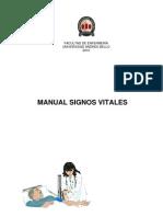 Apuntes Signos Vitales y Antropometria